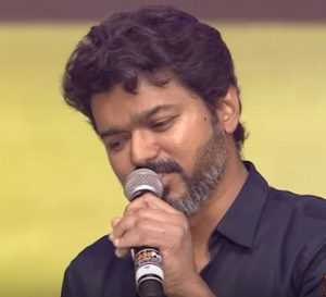 Bigili_audio_launch_Vijay_Singing