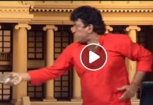 mano_Ganesan threw water_video