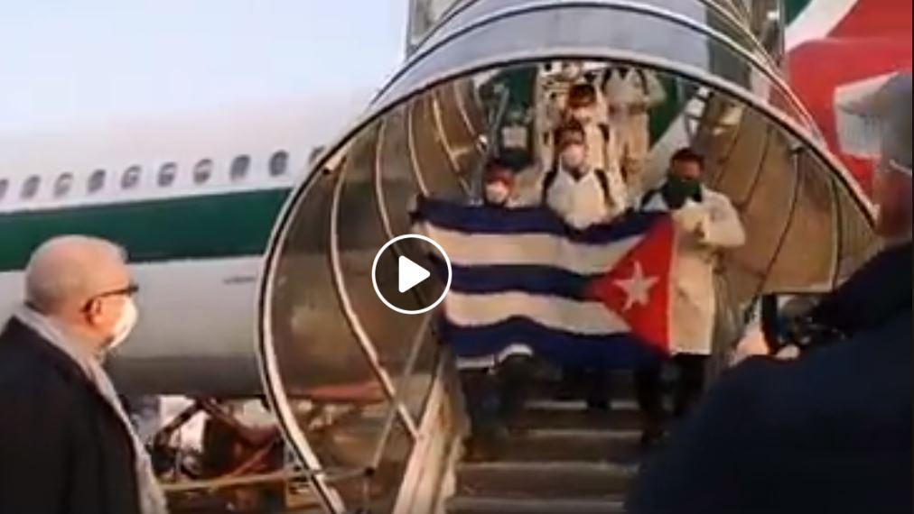 Cuba_Doctors_Landing_In_Italy_To_help_Covid_19
