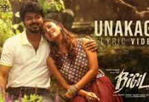 unakaga_lyrics_Bigil_movie