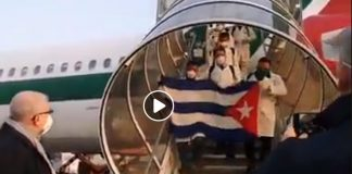 Cuba_Doctors_Landing_In_Italy_To_help_Covid_19